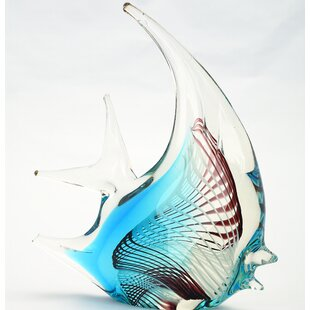 MitchGlassFishFigurine 100 Beach House Decor Ideas