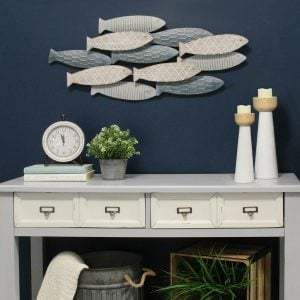 SchoolofFishWallDE9cor-1-300x300 Beach Wall Decor & Coastal Wall Decor