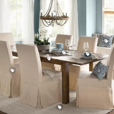 beach-dining-room-1 100 Beach House Decor Ideas
