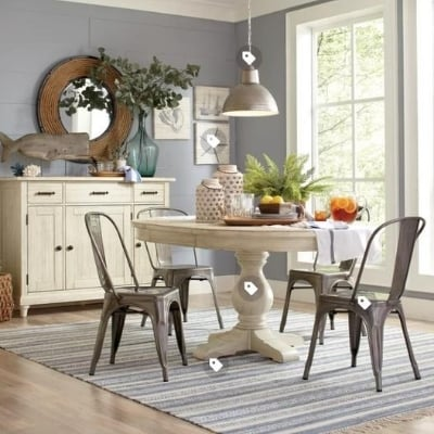 beach-dining-room-3 100 Beach House Decor Ideas