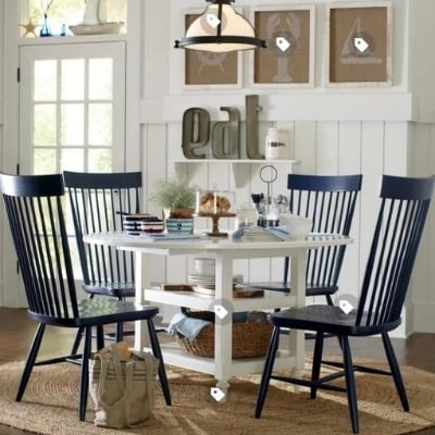 beach-dining-room-6 100 Beach House Decor Ideas