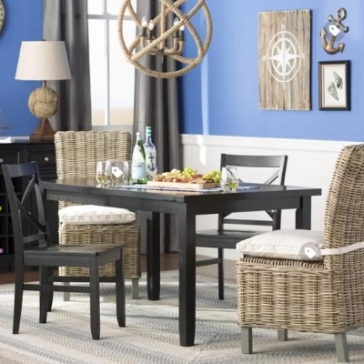 beach-dining-room-7 100 Beach House Decor Ideas