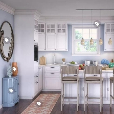 beach-kitchen-19 100 Beach House Decor Ideas