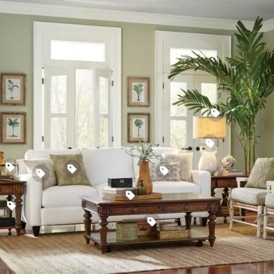 beach-living-room-2 100 Beach House Decor Ideas
