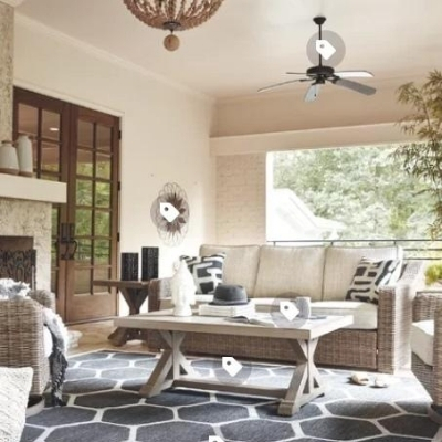 beach-living-room-3 100 Beach House Decor Ideas