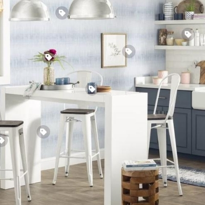 beach-themed-kitchen-15 100 Beach House Decor Ideas