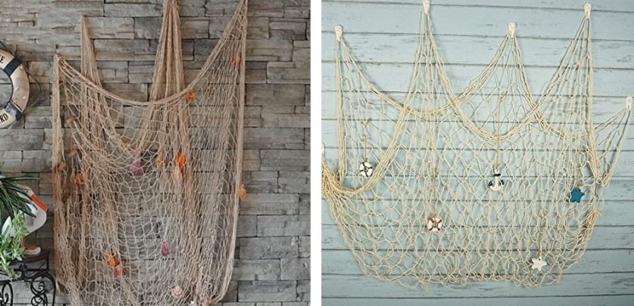 fish net decor