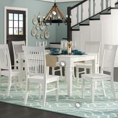 ocean-dining-room-15 100 Beach House Decor Ideas
