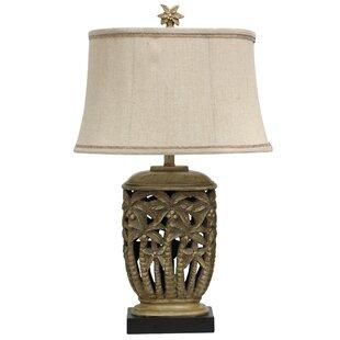 Minerva3022TableLamp Best Palm Tree Lamps