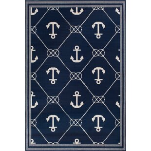 OutdoorAreaRug Best Anchor Themed Area Rugs