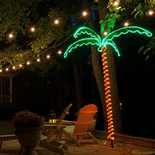 PalmLightedTrees26Branches Best Palm Tree Lamps