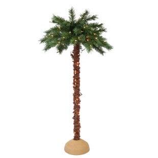 Pre-LitArtificialPalmTree Best Palm Tree Lamps