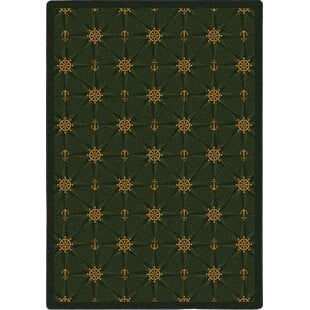 WhimsyMariner27sTaleAnchorRug Best Anchor Themed Area Rugs
