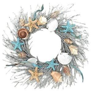 Dried+Beachy+Ocean+Wreath