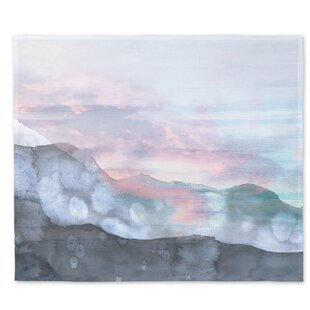 AbstractWatercolorMountainsWallTapestry 6 Best Types of Wall Hanging Tapestries