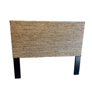 AbacaSeagrassPanelHeadboard Beach Bedroom Furniture and Coastal Bedroom Furniture