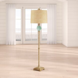 AddilynnClamshell65_FloorLamp Coastal Floor Lamps & Beach Floor Lamps