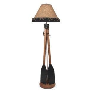 Ellard2BoatPaddles62_FloorLamp Coastal Floor Lamps & Beach Floor Lamps
