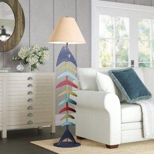 HysellBonefish61_FloorLamp Coastal Floor Lamps & Beach Floor Lamps