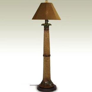Palm60_FloorLamp Coastal Floor Lamps & Beach Floor Lamps