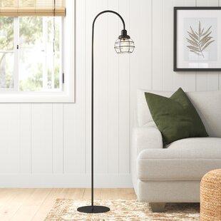 SantaMonica59_ArchedFloorLamp Coastal Floor Lamps & Beach Floor Lamps