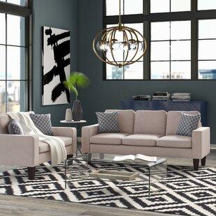 Abbey2PieceStandardLivingRoomSet Beach & Coastal Living Room Furniture