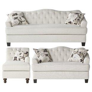 BeverlyStandardLivingRoomSet Beach & Coastal Living Room Furniture