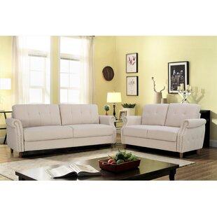 Briscoe2PieceLivingRoomSet Beach & Coastal Living Room Furniture