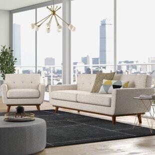 Byanca2PieceLivingRoomSet Beach & Coastal Living Room Furniture