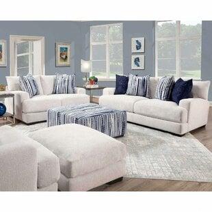 DelozierConfigurableLivingRoomSet Beach & Coastal Living Room Furniture
