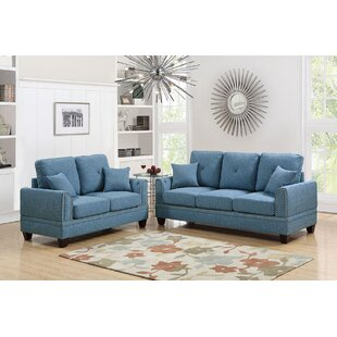 Findlay2PieceLivingRoomSet Beach & Coastal Living Room Furniture