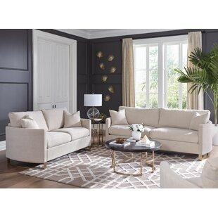 Nasrine2PieceLivingRoomSet Beach & Coastal Living Room Furniture