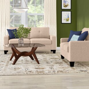 Offerman2PieceLivingRoomSet Beach & Coastal Living Room Furniture