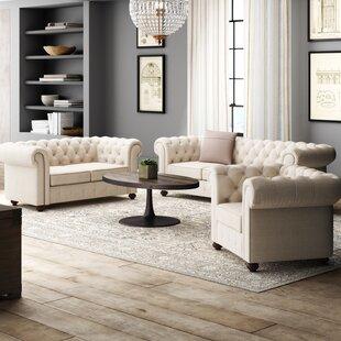 Quitaque3PieceLivingRoomSet Beach & Coastal Living Room Furniture