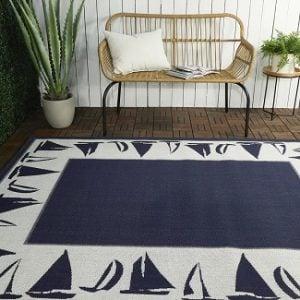 Nautical Rugs 4'x6'